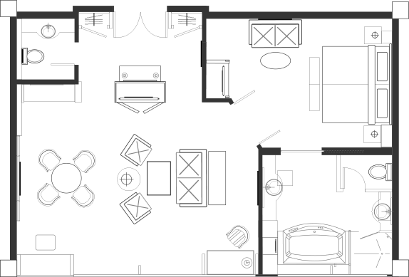 Royal Suite Blueprint