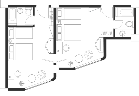 Connecting Room Blueprint
