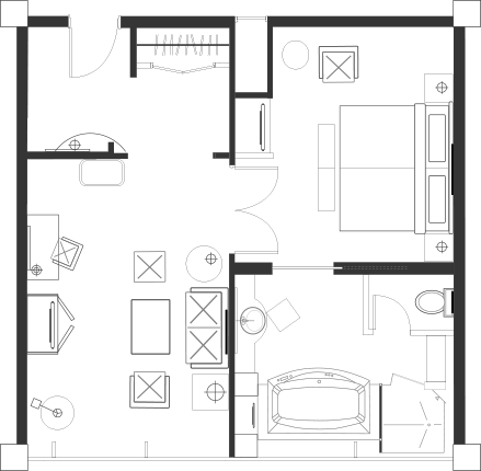Ocean Suite Blueprint
